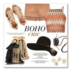"""""""Boho"""" by phiveriversuk ❤ liked on Polyvore featuring SFK, MANGO, Visconti & du Réau, Billabong and Glamorous"""