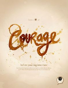 Keurig: Cup of the Day, Courage. Love the translation into experience -- coffee isn't just coffee. It's an emotion.