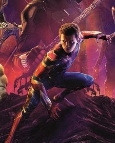 Spider-Man on the Infinity War poster!
