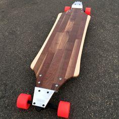 Long Skateboards, Cruiser Skateboards, Longboard Design, Longboard Decks, Surfboard Art, Skateboard Art, Drop Through Longboard, Microsoft, Plate Mat