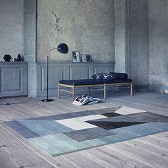 170x240 Trisquare Carpet - Cotton - by Linie Design #MONOQI