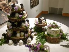 Image result for rustic wedding cupcakes