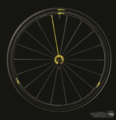 Mavic's 2014 125th anniversary edition Ksyrium. More rounded rim profile than previous designs. Mavic, Cycling Bikes, Cycling Outfit, Anniversary, Longboards, Scooters, Mtb, Design, Profile