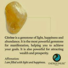 This item is unavailable Crystal Healing Stones, Citrine Crystal, Stones And Crystals, Crystal Ball, Gem Stones, Minerals And Gemstones, Crystals Minerals, Rocks And Minerals, Chakra Crystals
