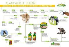 Een infograpic van Ecostyle, een klant van Wunderkraut Nederland waar we de Drupal sites voor .nl, .dk en .be maakten.
