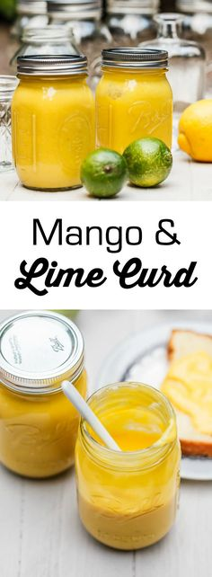 mango and lime curd - 1 Big Bite Mango Recipes, Jam Recipes, Canning Recipes, Sauce Recipes, Dessert Recipes, Juicer Recipes, Dessert Sauces, Detox Recipes, Bread Recipes