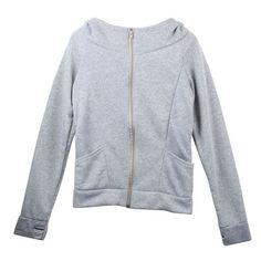 Autumn Winter Lady Hoodies Coat Sweatshirt Jacket Pullover Long Sleeve Tops Outwear Blusas Chaqueta de mujeres Aug3