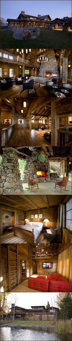 Minnesota Lake Lodge - Style Estate -