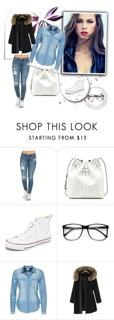 """Untitled #5"" by malina-husgovic ❤ liked on Polyvore featuring Sole Society, Converse and Vero Moda"