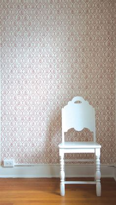 #18 Viviane Wallpaper from Les Indiennes  US$105/roll. Lots of colours