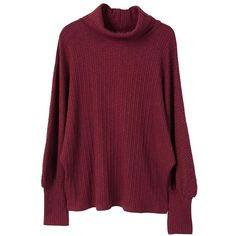 MANGO Turtleneck ribbed sweater (2.125 RUB) ❤ liked on Polyvore featuring tops, sweaters, maroon, cable sweaters, purple turtleneck, turtle neck sweater, cable-knit sweater and cable knit turtleneck sweater