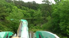 Saw Mill log flume, six flags great adventure