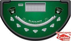 Custom Blackjack Andrus by Casinosupply.com