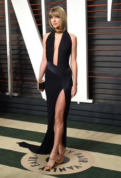 Taylor Swift at the Vanity Fair 2016 Oscars after-party
