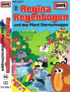Regina Regenbogen und das Pferd Sternschnuppe - 2. Hörspiel-Kassette, Europa 515232, 1985
