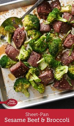 This six-ingredient sheet-pan spin on beef and broccoli is easy enough to make any time you're craving takeout — and at 25 minutes, it's faster, too!
