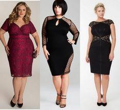 The most beautiful evening dresses for fat women: photo ideas Plus Size Short Dresses, Trendy Plus Size Clothing, Plus Size Outfits, Vestidos Gg, Curvy Fashion, Plus Size Fashion, Look Plus Size, Modelos Plus Size, Plus Size Kleidung