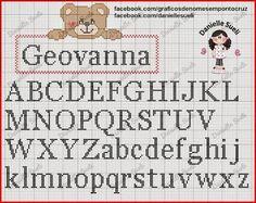 Resultado de imagem para monogramas em ponto cruz
