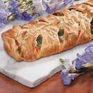 Makeover Chicken 'n' Broccoli Braid Recipe | Taste of Home Recipes