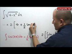 Integral resuelta por Sustitución Trigonométrica: Julio Rios explica cómo resolver una integral por el método de sustitución trigonométrica.