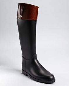 Burberry Rain Boots - Equestrian Bridle | Bloomingdale's