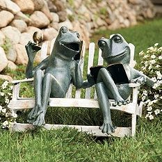 Garden Sculptures   Garden Statues   Frog Statues   Frontgate.