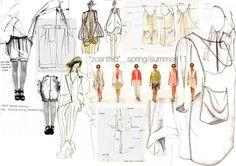 Fashion Sketchbook - fashion design drawings; fashion portfolio; final collection development // Chloe Lennox