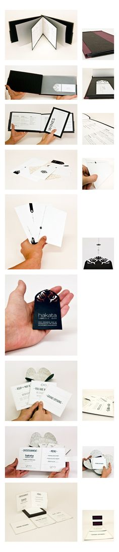 Hakata Nooble Bar   Menu, Stationary Set, and Grand Opening Invitation   Designer: Allison Kunath Design + Illustration