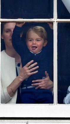 June 13, 2015 - Prince George watches Trooping the Colour