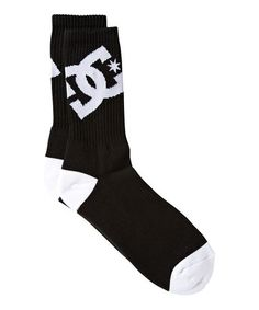Take a look at this Black Lifted Socks by DC on #zulily today!
