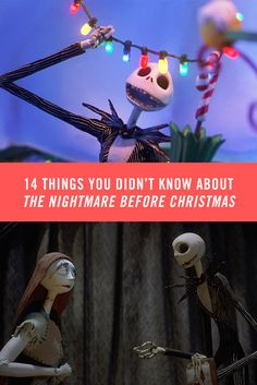 What's this? 14 things you didn't already know about Tim Burton's The Nightmare Before Christmas!