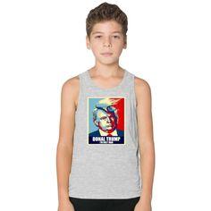 I'm Holy Man Donal Trump Kids Tank Top