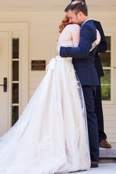 #groomhuggingbride #ceremony #brideandgroom #love #porchwedding