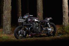 "Yamaha XJR 1300 Street Tracker ""Big Bad Wolf"" by El Solitario"