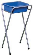 Supex Wash Up Stand - Galvanised Steel Frame, Australian Made, free Plastic Basin Included  $39.95  www.kellyscamping.com.au