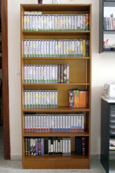 Córdoba, Junio 2010 - Casetes VHS a Gogó antes su reciclado...