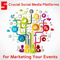 Social media is a powerful marketing tool. Here are 5 social media platforms that will take your event marketing to the next level.