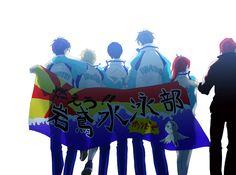 Free! - Iwatobi Swim Club, haruka nanase, makoto tachibana, rin matsuoka, nagisa hazuki, rei ryugazaki, gou matsuoka.