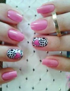 Unhas Decoradas BR Unhas Decoradas para o Dia dos Namorados Valentine's Day Nail Designs, Colorful Nail Designs, Cute Nails, Pretty Nails, Valentine Nail Art, Finger, Happy Nails, Acrylic Nail Art, Nail Shop