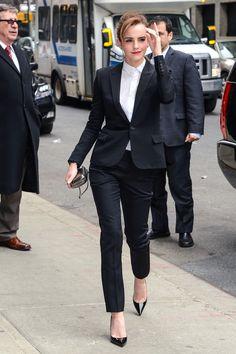 Oh, Just Emma Watson Killing It in a Pantsuit #emmawatson #harrypotter #hermione