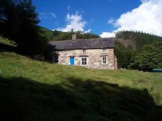 Led Zeppelin - Bron-Yr-Aur Cottage near Machynlleth in South Snowdownia, Wales