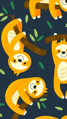 Sloths In 2019 Cute Wallpapers Cute Sloth Iphone Wallpaper intended for Cartoon Sloth Wallpapers Tier Wallpaper, Trendy Wallpaper, Pattern Wallpaper, Cute Wallpapers, Wallpaper Backgrounds, Iphone Wallpaper, Phone Backgrounds, Cartoon Wallpaper, Animal Wallpaper