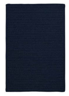 Colonial Mills Simply Home Solid H561 Navy Blue Area Rug 7x9 499