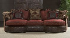 Different colors and find some chunky pillows and you have yourself a different and cool couch!