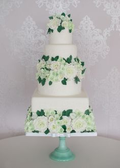5 tier piped icing 5 Tier Wedding Cakes, Piping Icing, Cake Trends, Floral, Desserts, Weddings, Tailgate Desserts, Deserts, Florals