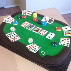 Pin by jewel_lee on cake pics in 2019 торт. Casino Party Games, Casino Theme Parties, Party Themes, Cake Pictures, Cake Pics, Poker Cake, Vegas Cake, Diwali Party, Retirement Cakes