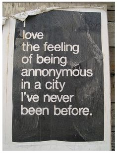 I do love the feeling...