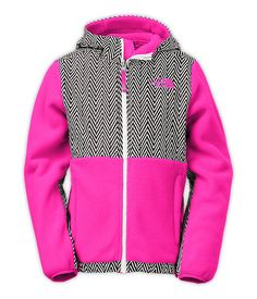 The North Face Girls' Jackets & Vests FLEECE GIRLS' DENALI HOODIE