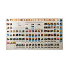 Periodic Table of the Elements, Wall-size $5!