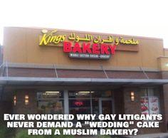 Muslim bakeries refuse to bake cakes for gay weddings VIDEO – media silent | RedFlagNews.com